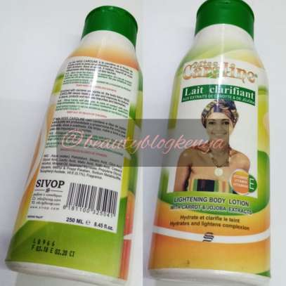 Miss Caroline Lait Clarifiant Skin Lightening Body Lotion