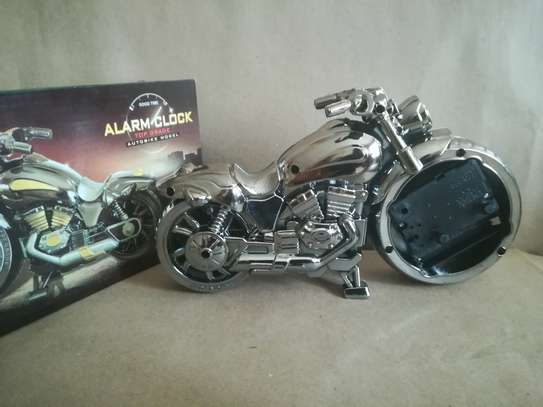 Creative Motorcycle shaped Alarm clock image 6