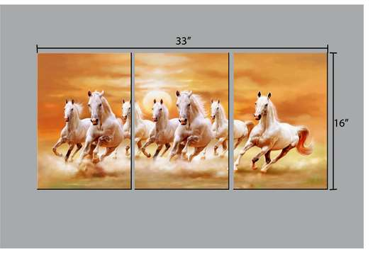 Horse Wall Hanging Art. image 1