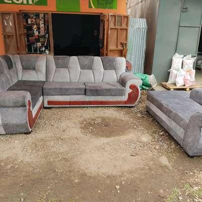 Kangaroo l shape plus sofa bed image 1