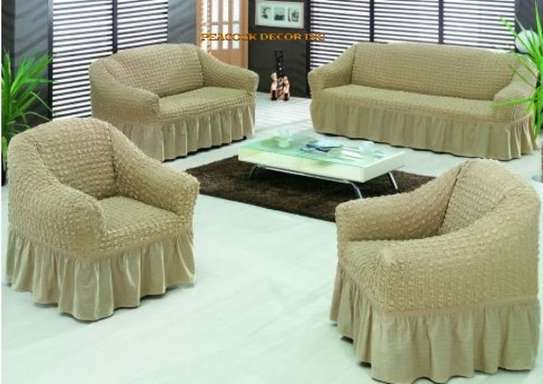 Ready Made Loose Covers 5 seater 11500/= image 2