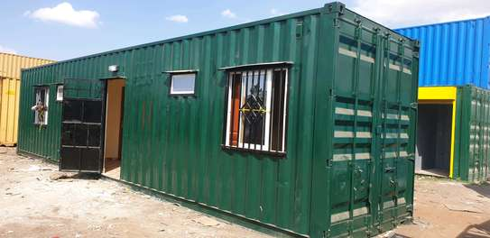 40ft container house image 1