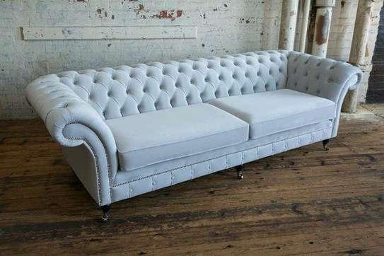 Latest Chesterfield sofas for sale in Nairobi Kenya/light blue three seater sofas for sale in Nairobi Kenya image 1