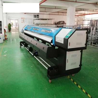 DX5 large format printing machine image 1