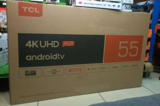 TCL 55 INCH 4K UHD SMART ANDROID TV - P8M Series image 2