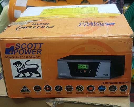 Scott power 850va 12V 1.5kva hybrid inverter image 1