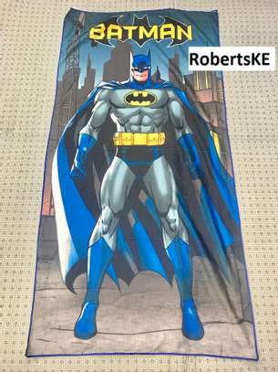 batman themed kids towels image 1