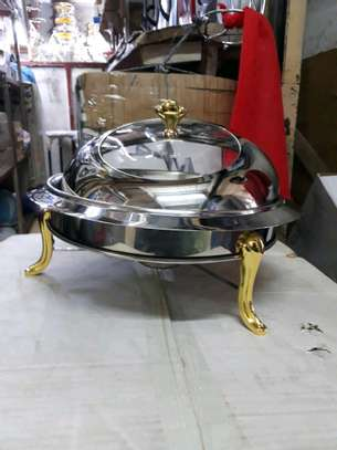 Roll top chaffing dish image 1