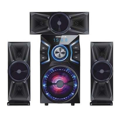 Home Star HS-1051 3.1CH Multimedia Speaker System - Black
