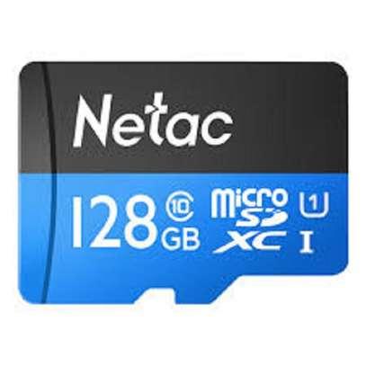 Netac  128GB Class 10 High Speed Storage Memory Card TF Card image 1