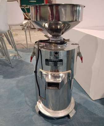 High quality 15kg/h Automatic industrial peanut butter making machine /sesame sauce grinder image 2