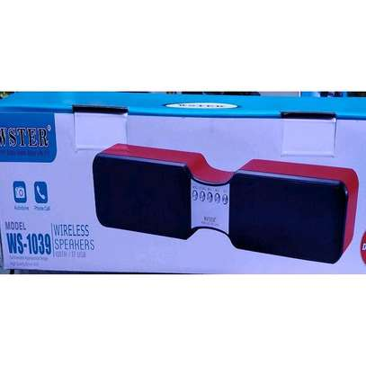 Wster Soundbar Wireless Bluetooth Speaker With TF USB image 2