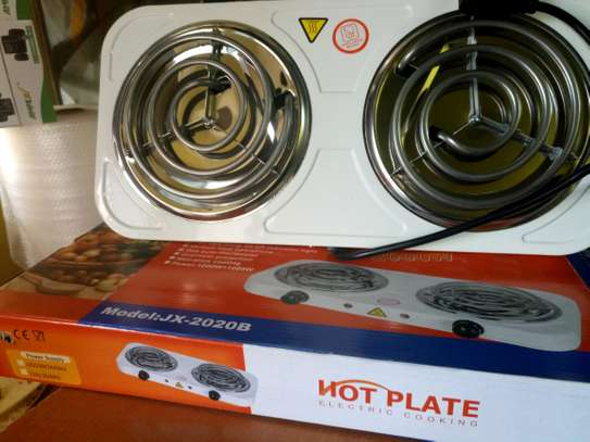 Double Electric Cooking Hot Plate image 1