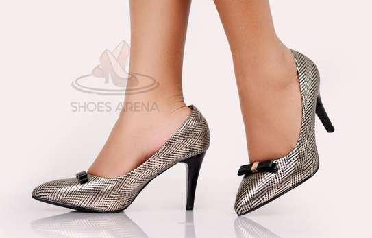 Shinny High heels image 6