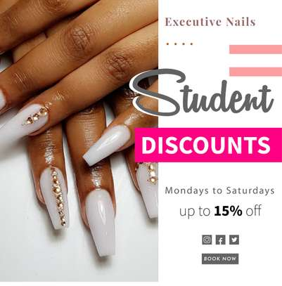 Executive Nails Student Offer