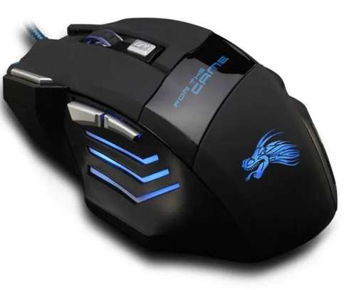 Professional Wired USB Optical Gaming Mouse  - 5500DPI image 2