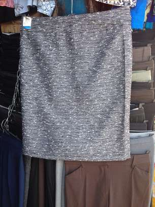 Spotted Grey Skirt image 1