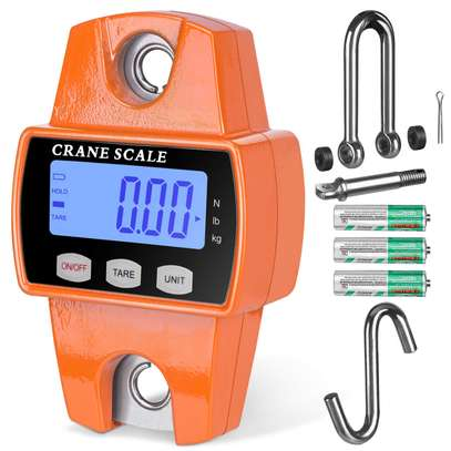 Hanging Scale Mini Industrial Crane Scale 300kg 660 LBS image 1