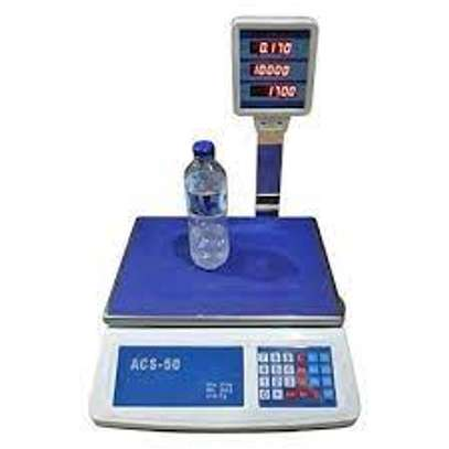 New Digital ACS 50 KG Weighing Scale image 1