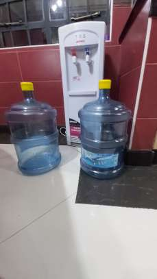 Water Dispensers with bottles
