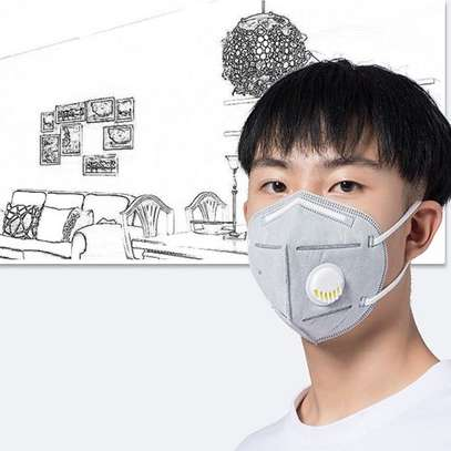 KN95 With Respirator, 5 Layers Of Filtering, Anti Virus & Bacteria, Anti-dust