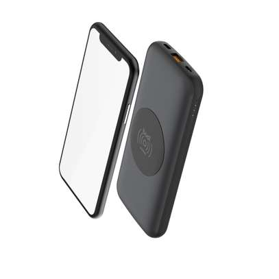 BUDI 10000mAh WIRELESS CHARGER QC3.0 + PD 18W CHARGER POWER BANK image 3