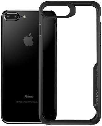 IPAKY Hybrid Shockproof Transparent Case for iPhone  7 7 Plus image 4