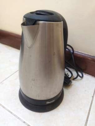 Electric water metal kettle.