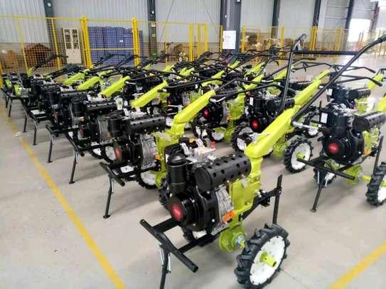 Diesel hand tractor/power tiller