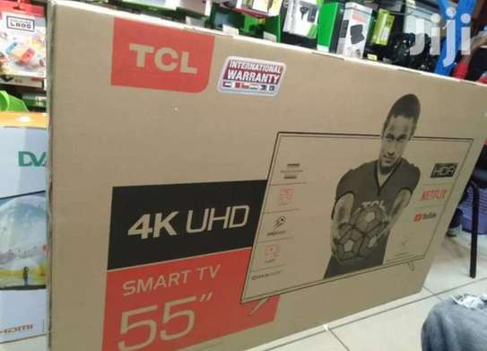 55 inches Tcl smart 4K tv