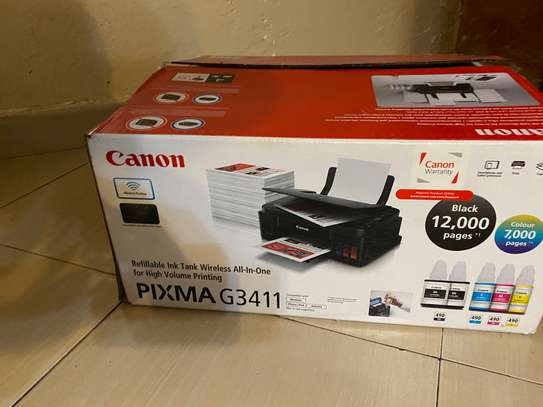 Canon Pixma G3411 a month old