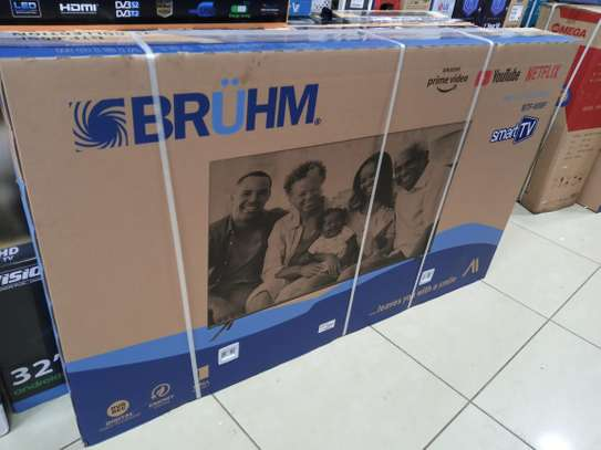 65 inches bruhm smart TV