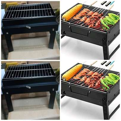 Outdoor Portable Meat Charcoal Grill image 1