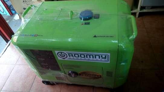 5kVA  Roomny Engineering Back up key start Diesel Engine image 4