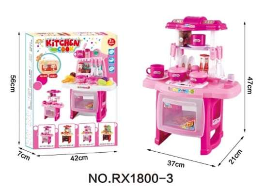 Kids Kitchen Set Toys image 1