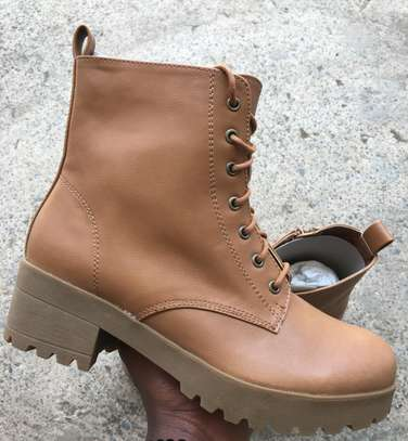 Brown Leather Boots image 2