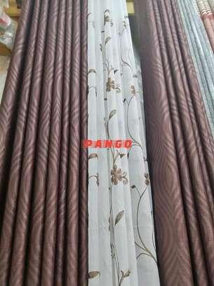 Elegant chocolate brown Curtains image 7
