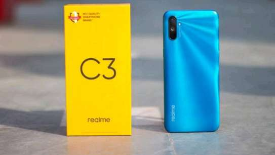 Realme C3 brand new and sealed in a shop. image 1