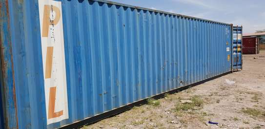Empty 40ft shipping containers for sale image 2