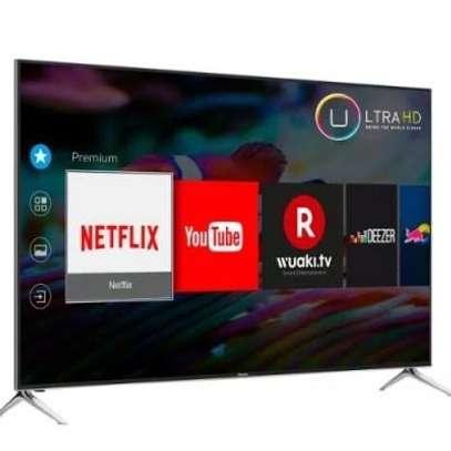 New Hisense 75 inches UHD-4K Smart Frameless Digital TVs image 1