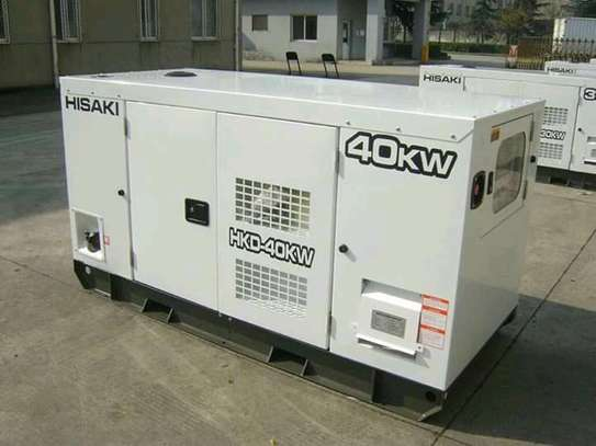 50kva/40kw silent power generator