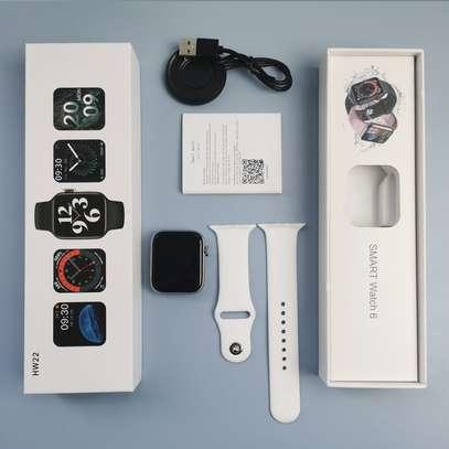 Smart Watch Year 2021 HW22 IWO Series 6 image 3
