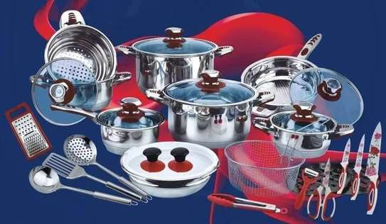 Pots 30 pieces , stainless steel 100%