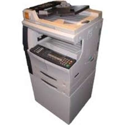 Kyocera KM-1650 Photocopier with duplex and trolley image 1