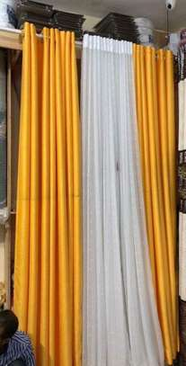 Unique classy curtains and sheers image 5