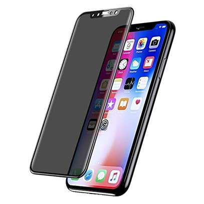 5D Full Glue Anti-spy Privacy Screen Protector For iPhone X Xs XR XS Max image 2