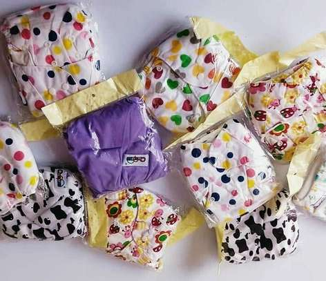 Washable diapers with 3 Inserts