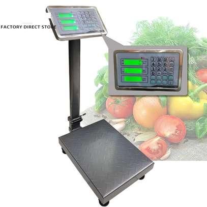 Rechargeable Digital  Pricing Platform Scale 300kg image 1