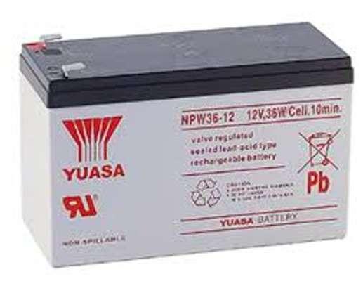 CSB ,UASA, panasonic,Guston,Jacob 12V 7.2Ah UPS battery. image 3