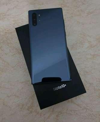 Samsung Galaxy Note 10 Plus ~ 512 Gigabytes  Black image 2